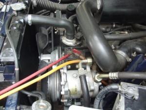 FX4 エアコン修理