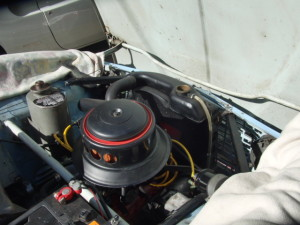 サーブモンテカルロ850 電動フアン取り付け